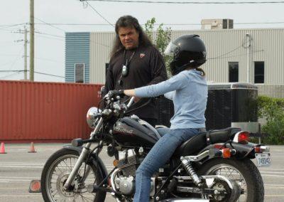 Cours de moto pratique à Laval - École de Conduite Moto Jean-Pierre Chenu à Laval